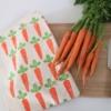 Printed Carrot Drawstring Bag