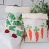 Block Printed Produce Bag