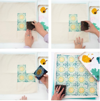 Learn how to teach a Block Printing workshop
