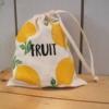 Block Printed Fruit Bag
