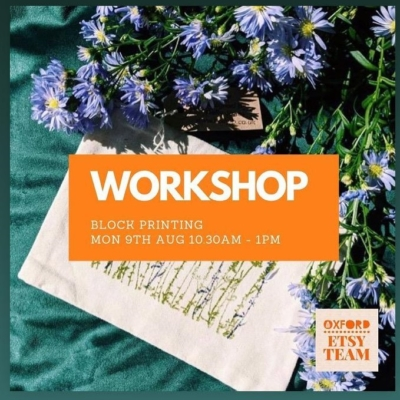 Workshop with Oxford Etsy
