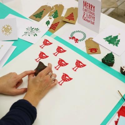 Christmas Stationery Printing Workshops