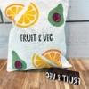 Fruit and Veg Small Text Printing Block