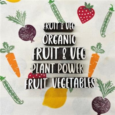 Fruit & Veg Text Collection
