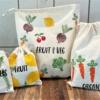 Fruit & Vegetable Printed Bags