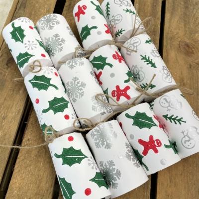 Christmas Crackers- White