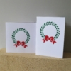 Christmas Wreath & Bow Cards