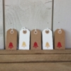 Mini Bell Gift Tags