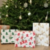 Block Printed Christmas Presents