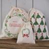Printed Christmas Gift Bags