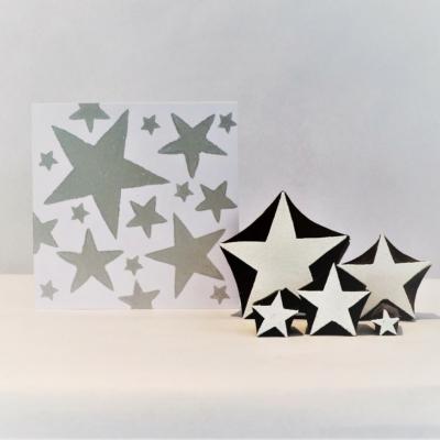 Set of 5 Stars- Printing Blocks