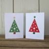 Spotty Christmas Tree Cards