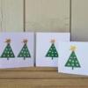 Wonky Star Christmas Tree Cards